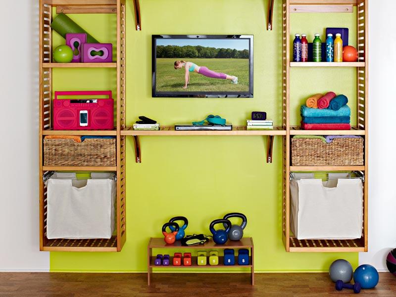 Lowe s Creative Ideas Home Gym Makeover 3