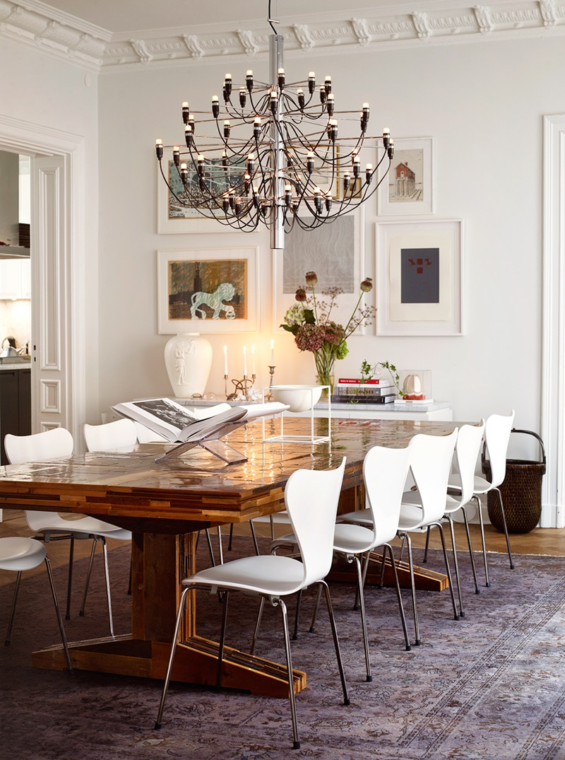 Antique And Modern Furniture Together interior glam in sweden | ideabook