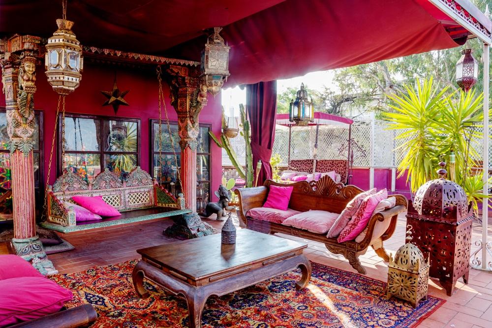 Skona Hem Bohemiskt hem med smak av Marocko 1