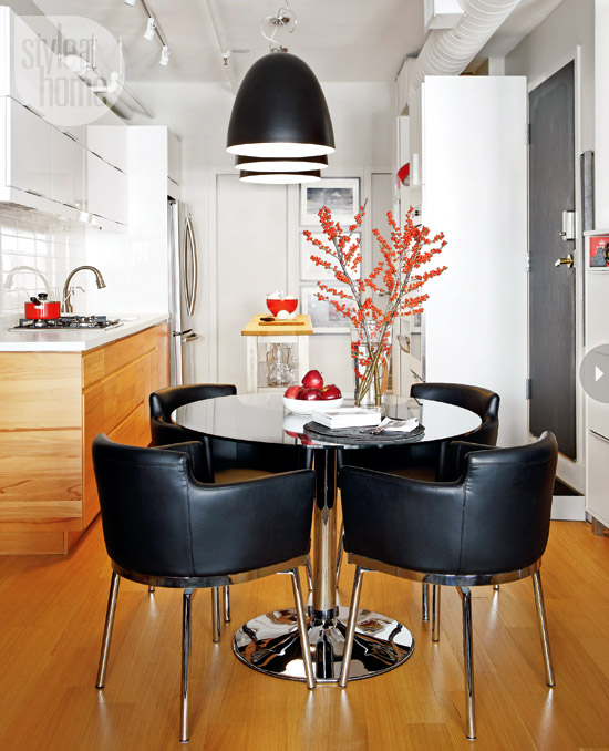 Style At Home Small space Bold and whimsical loft 4