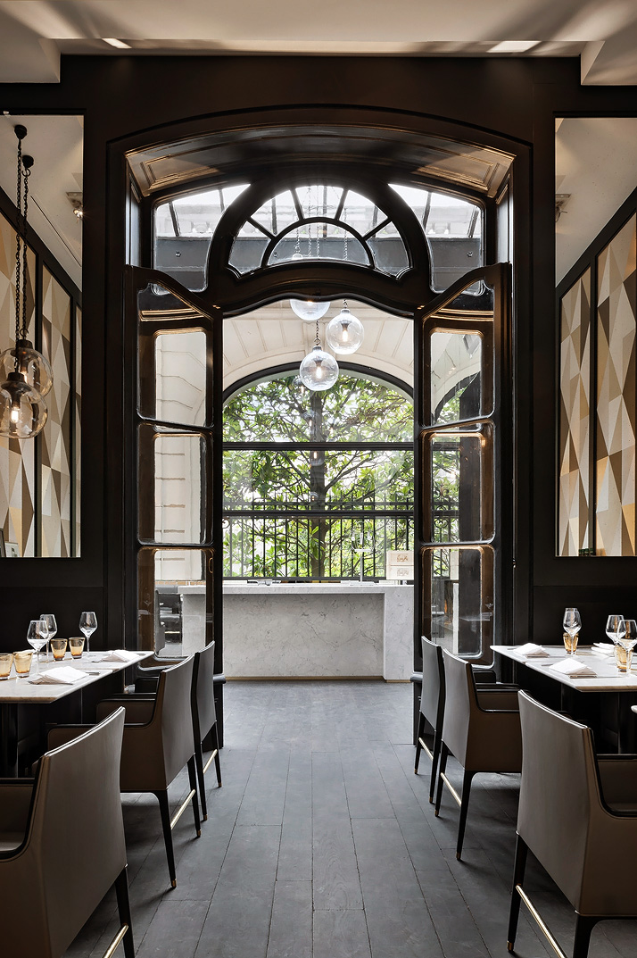 Yatzer Charles Zana Designs The New Cafe Artcurial 1