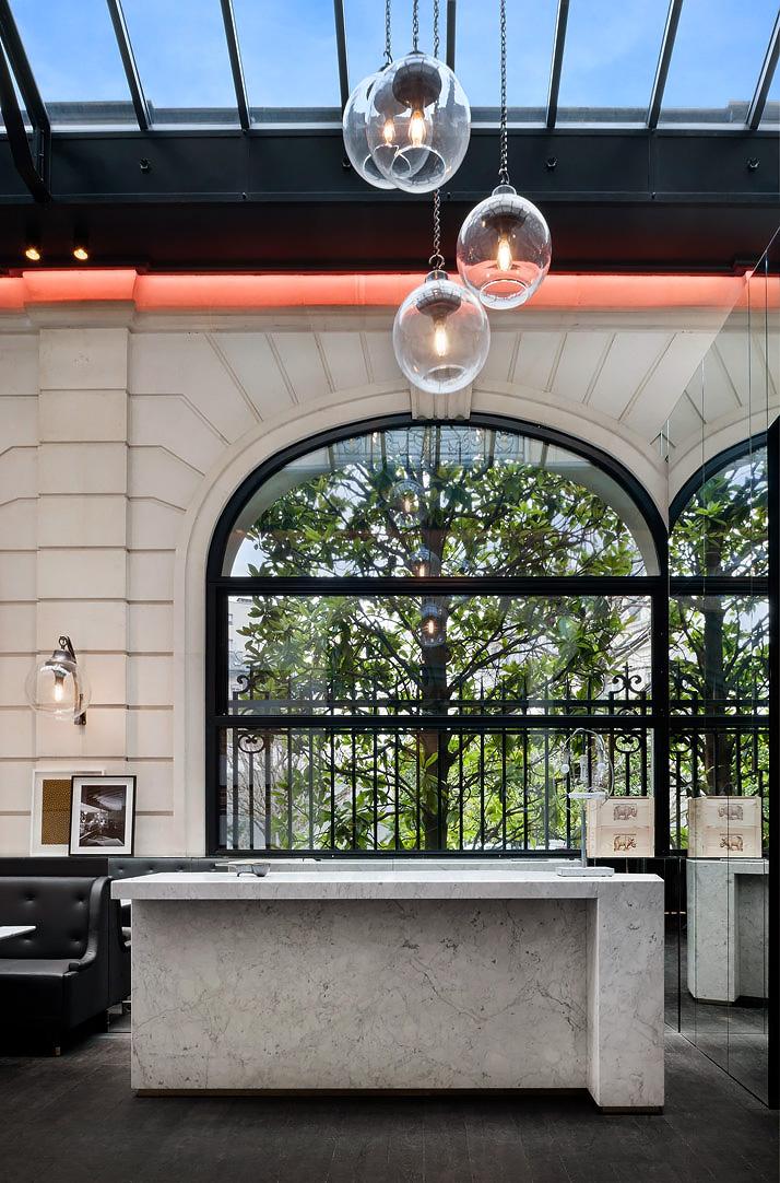 Yatzer Charles Zana Designs The New Cafe Artcurial 7