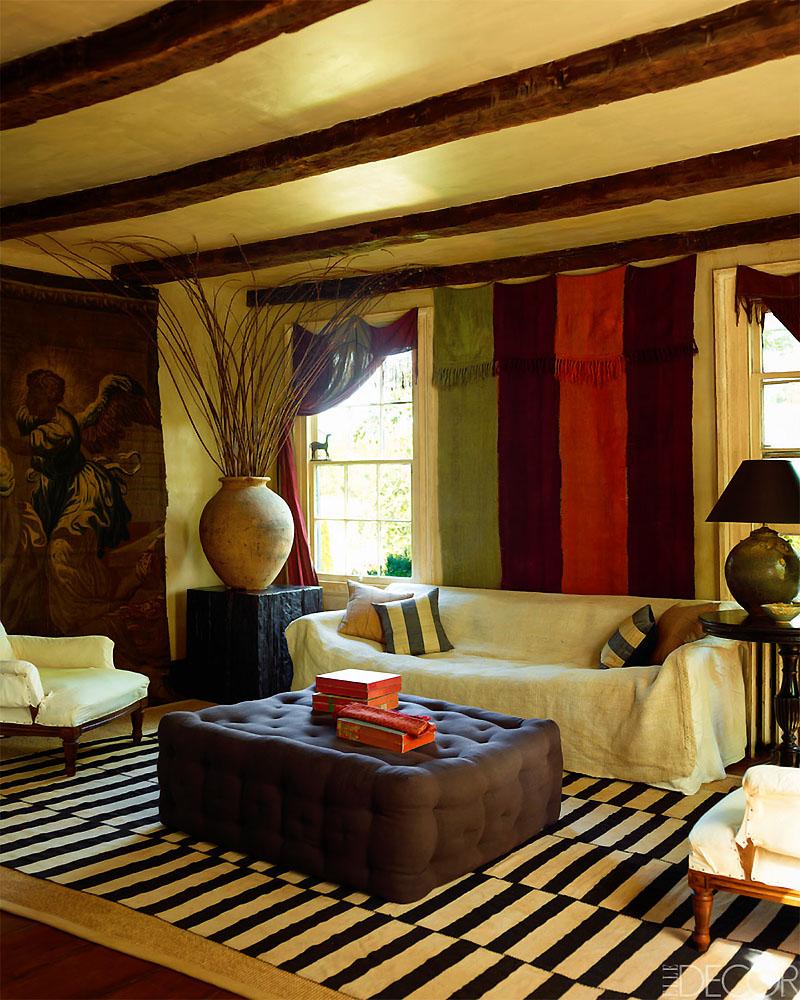 Elle Decor Yankee Ingenuity Michael Trapp's Connecticut Home 4