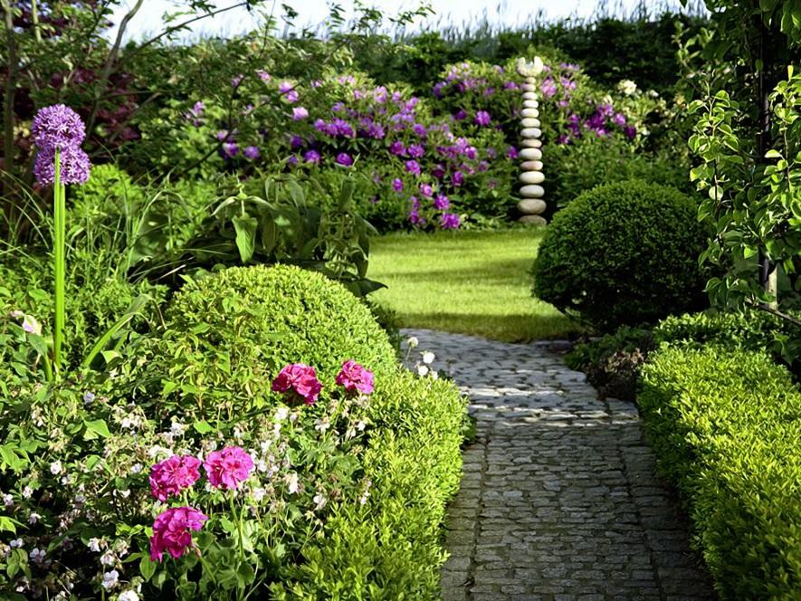 Der perfekte Garten Zuhause Wohnen 5