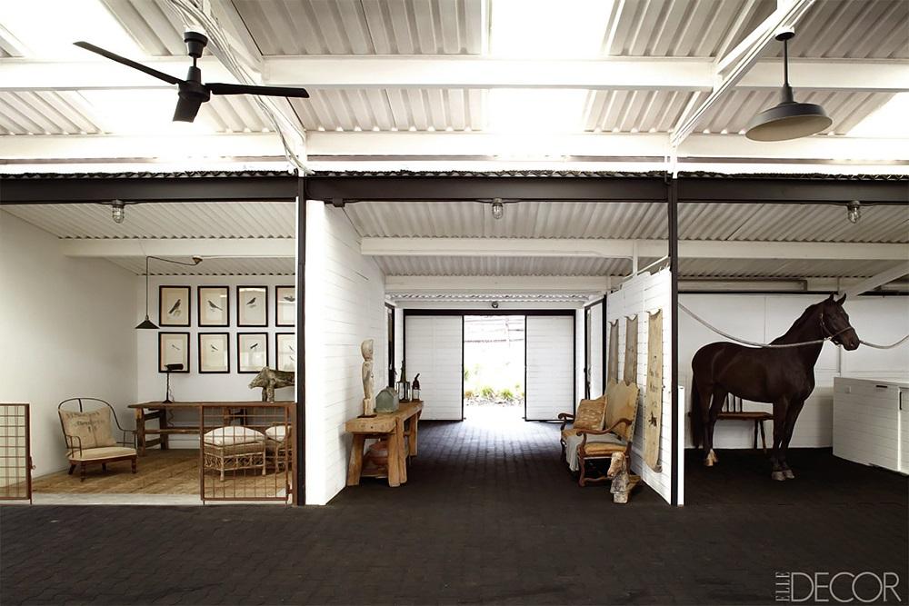 ELLE DECOR Southern California Horse Ranch 5