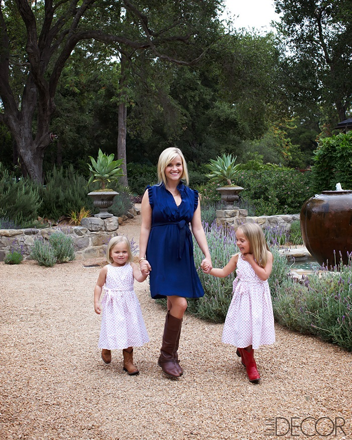 Reese Witherspoon's House ELLE DECOR 1