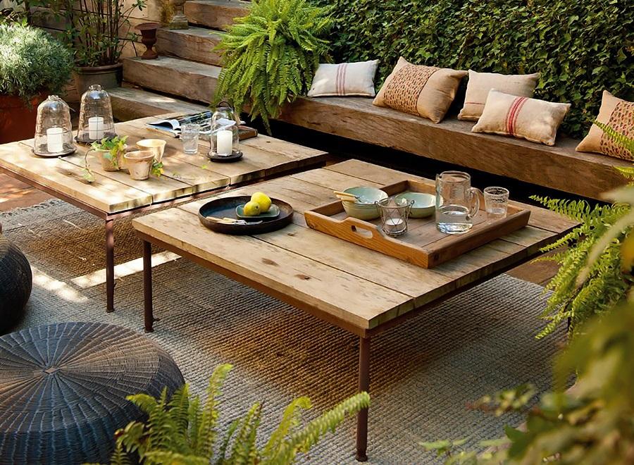 ElMueble  Un salon abierto al jardin 1