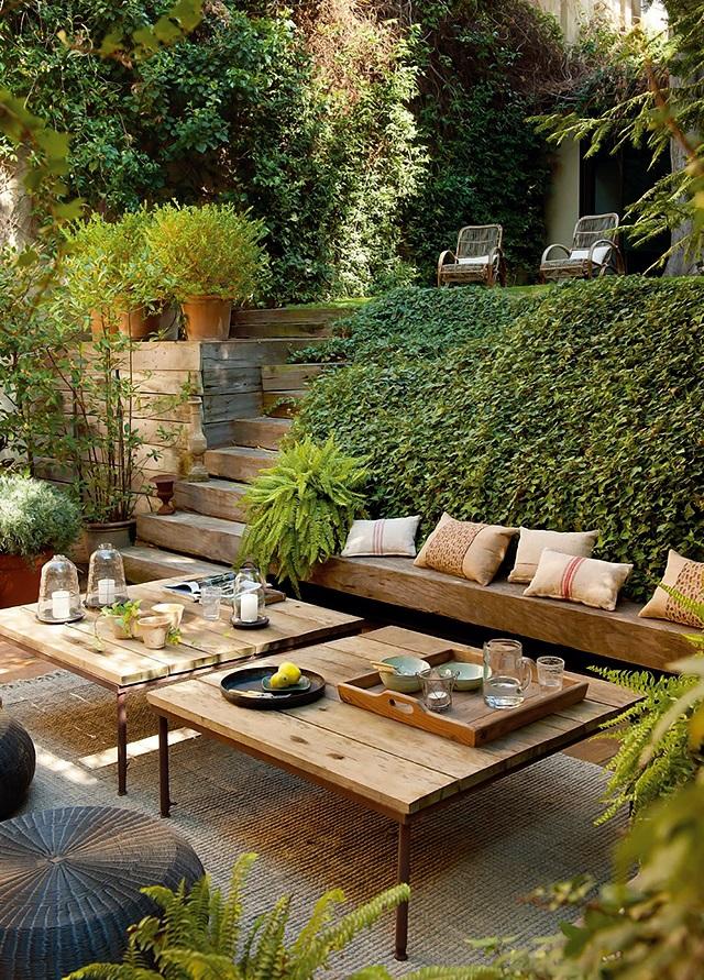 ElMueble  Un salon abierto al jardin 2