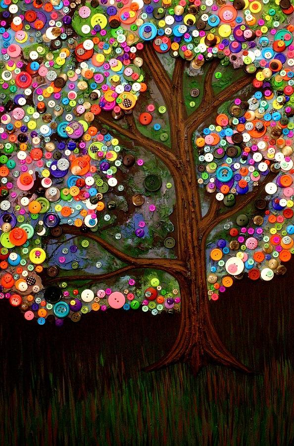 Monica Furlow Button Tree 2