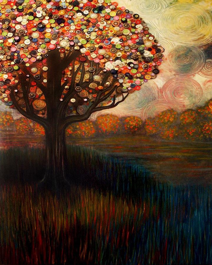 Monica Furlow Button Tree 4