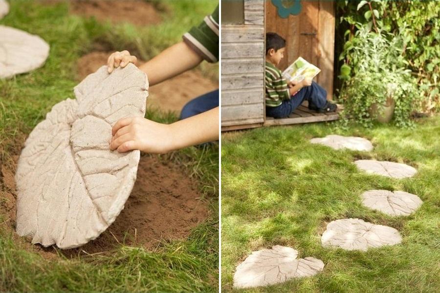 Своими руками плитки для сада