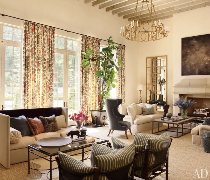 AD Suzanne Kasler and William TBaker Create a Casual Atlanta House 7