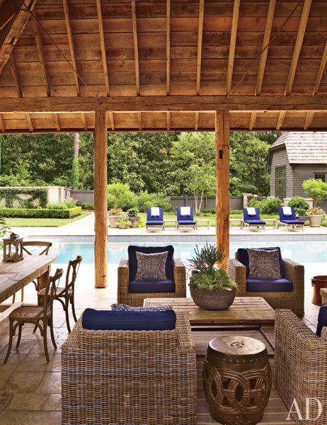 AD Suzanne Kasler and William TBaker Create a Casual Atlanta House 8
