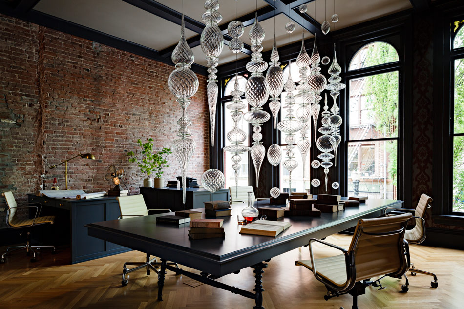 Jessica Helgerson Interior Design Gothic Office 1