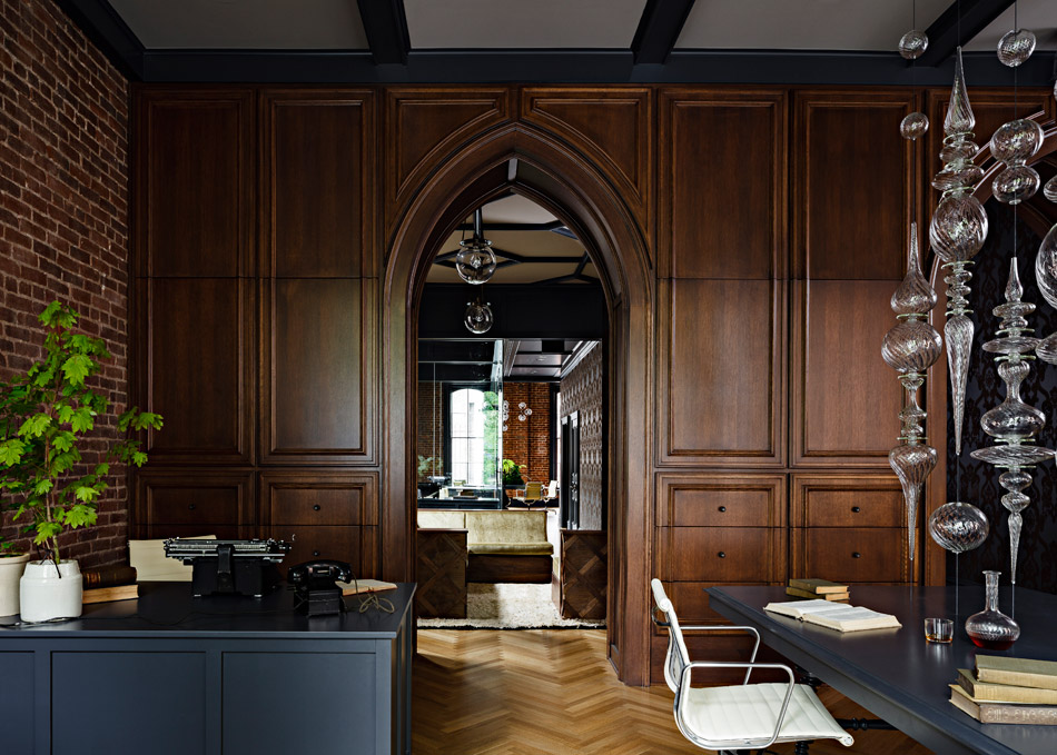 Jessica Helgerson Interior Design Gothic Office 6