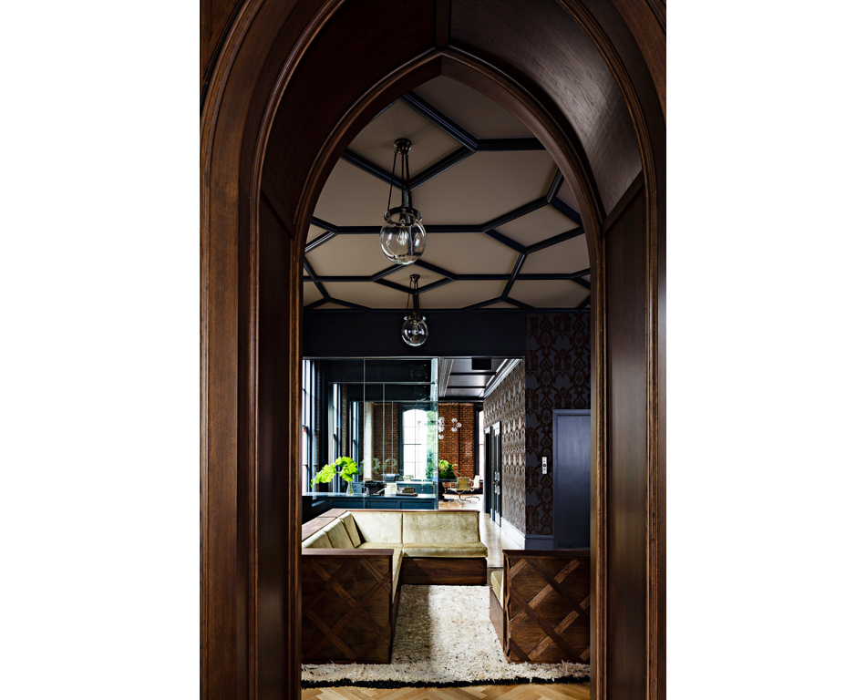 Jessica Helgerson Interior Design Gothic Office 7