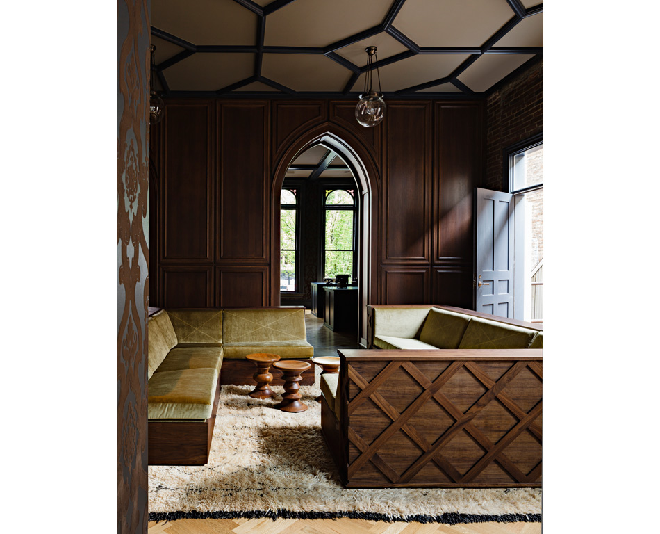Jessica Helgerson Interior Design Gothic Office 8