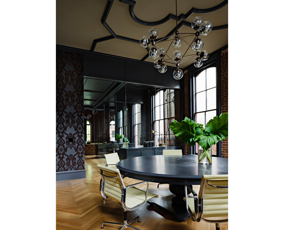 Jessica Helgerson Interior Design Gothic Office 10