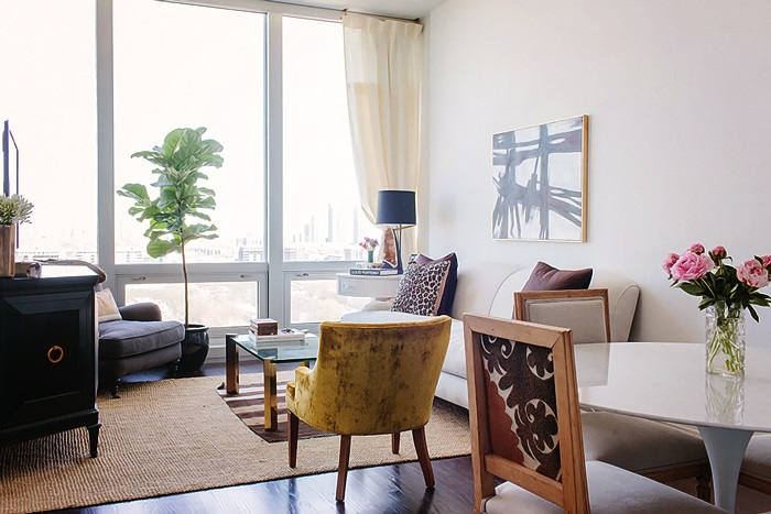 Design Sponge In Chicago An Apartment with a Sartorial Approach 4
