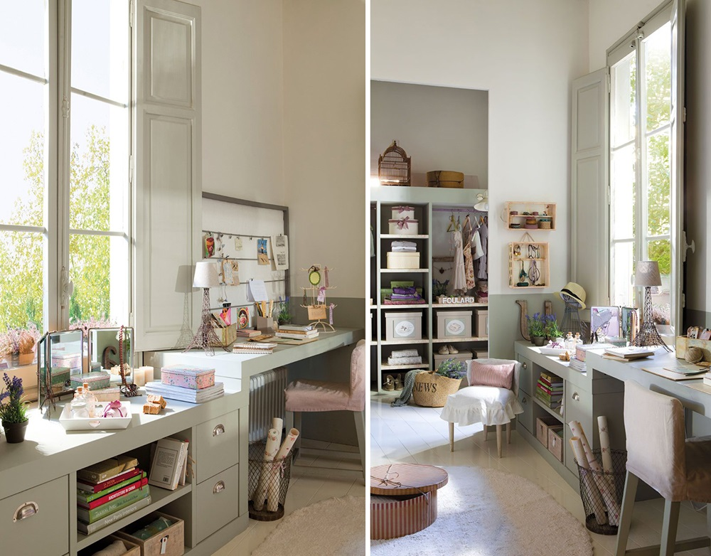 El Mueble El dormitorio ideal de una adolescente 1