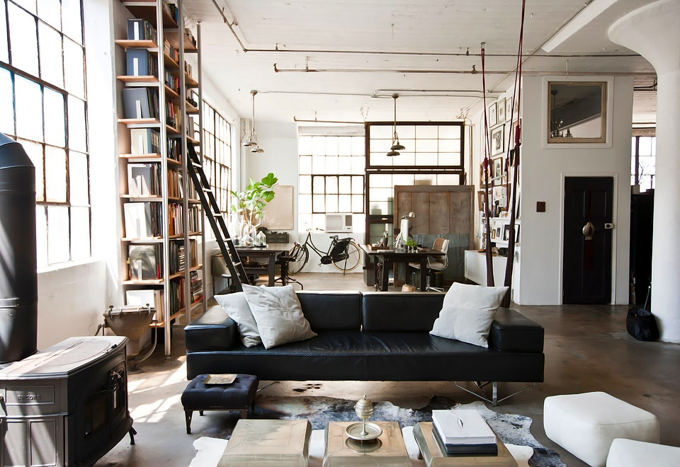 Decordemon: International Meets Industrial In A Brooklyn Loft