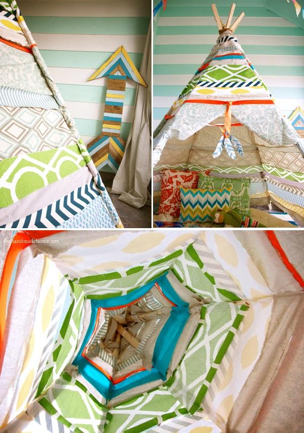 the handmade home no sew teepee 7