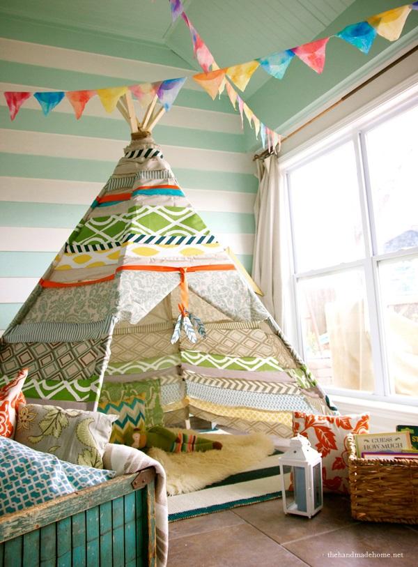 the handmade home no sew teepee 8