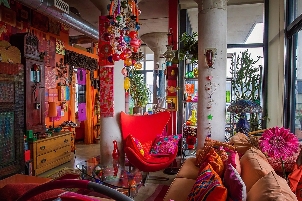 Apartment Therapy Karen's Color Explosion 1