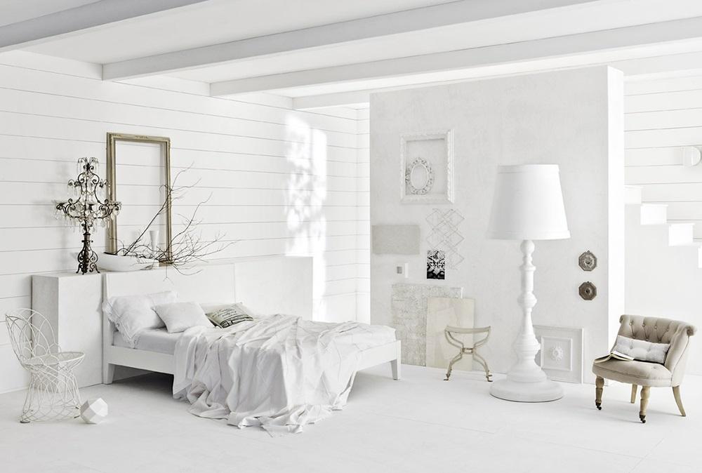 Не являющиеся ни темными, ни светлыми, они наполняют комнату особым шармом, при этом, не мешая  белому радовать глаз