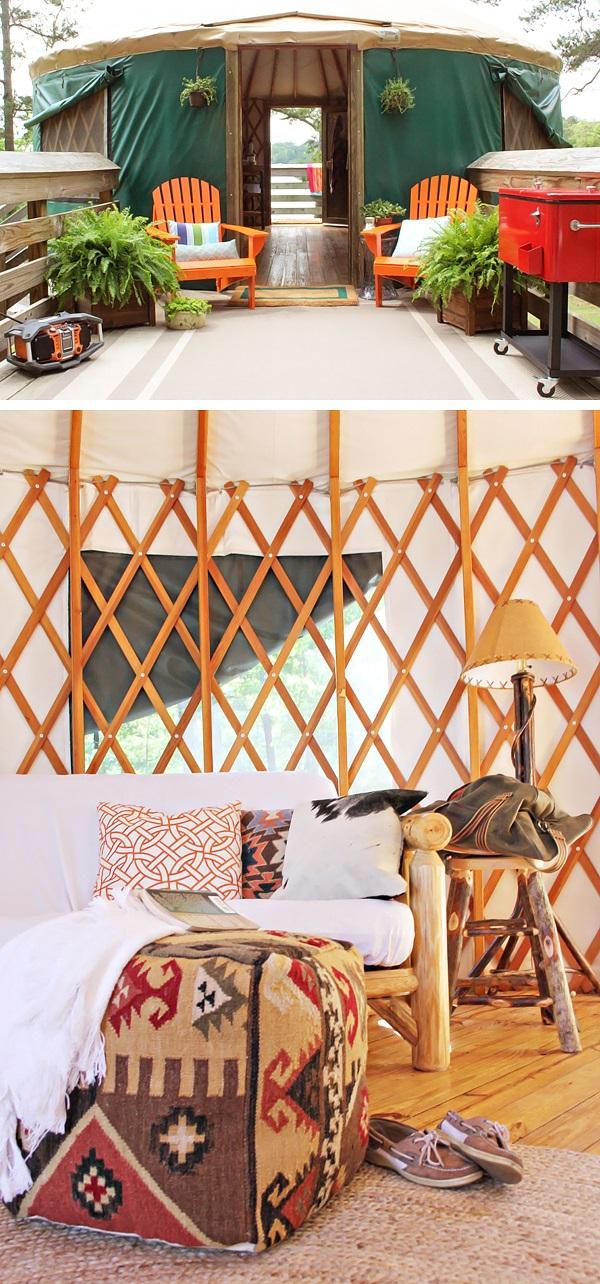 Home Improvement Blog Make Camping Glamorous 1