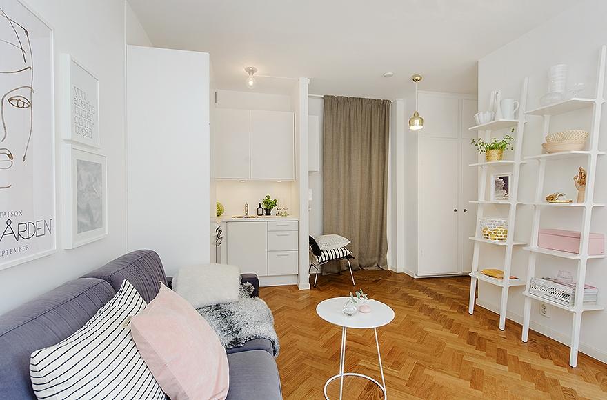 Дизайны однокомнатных квартир 40 кв.м фото