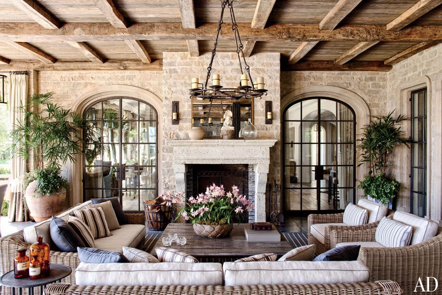 Architectural Digest Gisele Bundchen and Tom Brady's House in LA 1