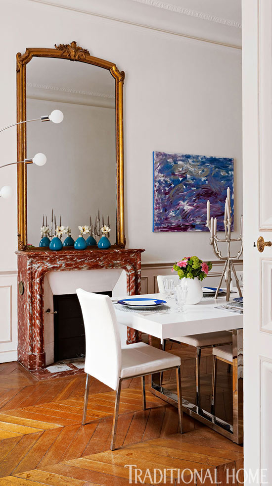 Traditional Home Colorful and Romantic 8