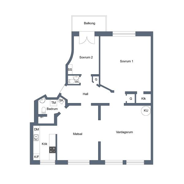 Innerstadsspecialisten 3,5 rum om 96 kvm Vasastan 14