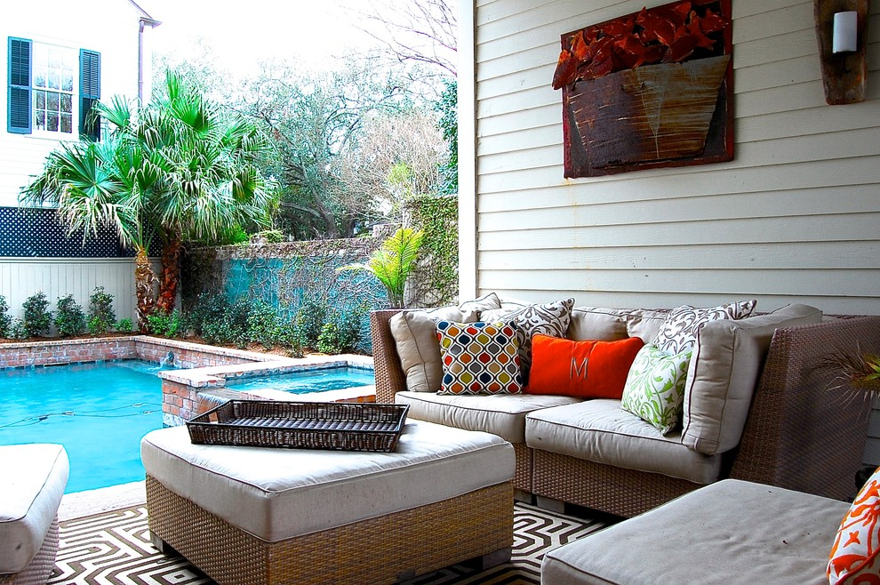 Houzz Corynne Pless New Orleans home 18