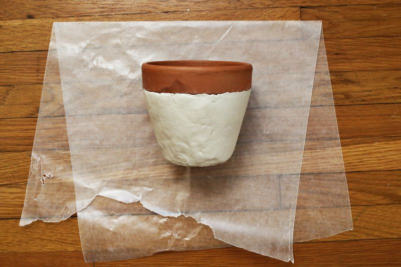 A Beautiful Mess Try This Textured Planter Project 3