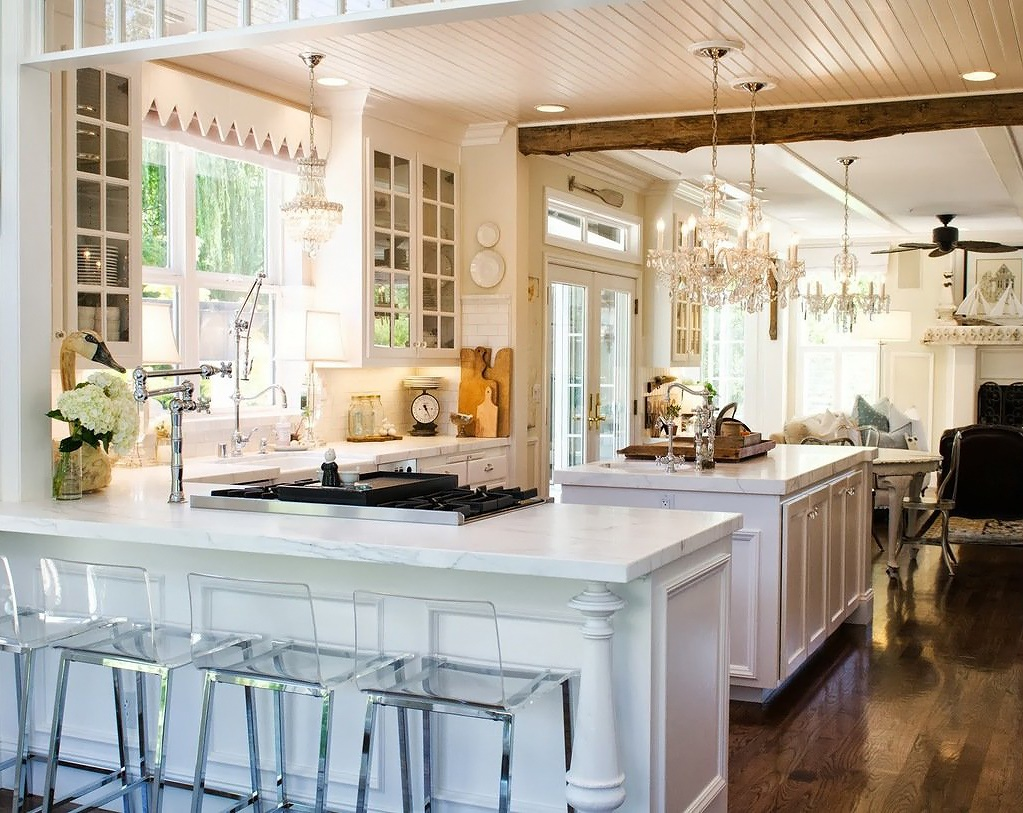 The Kitchn Shawna's Glamorous Custom Kitchen 1
