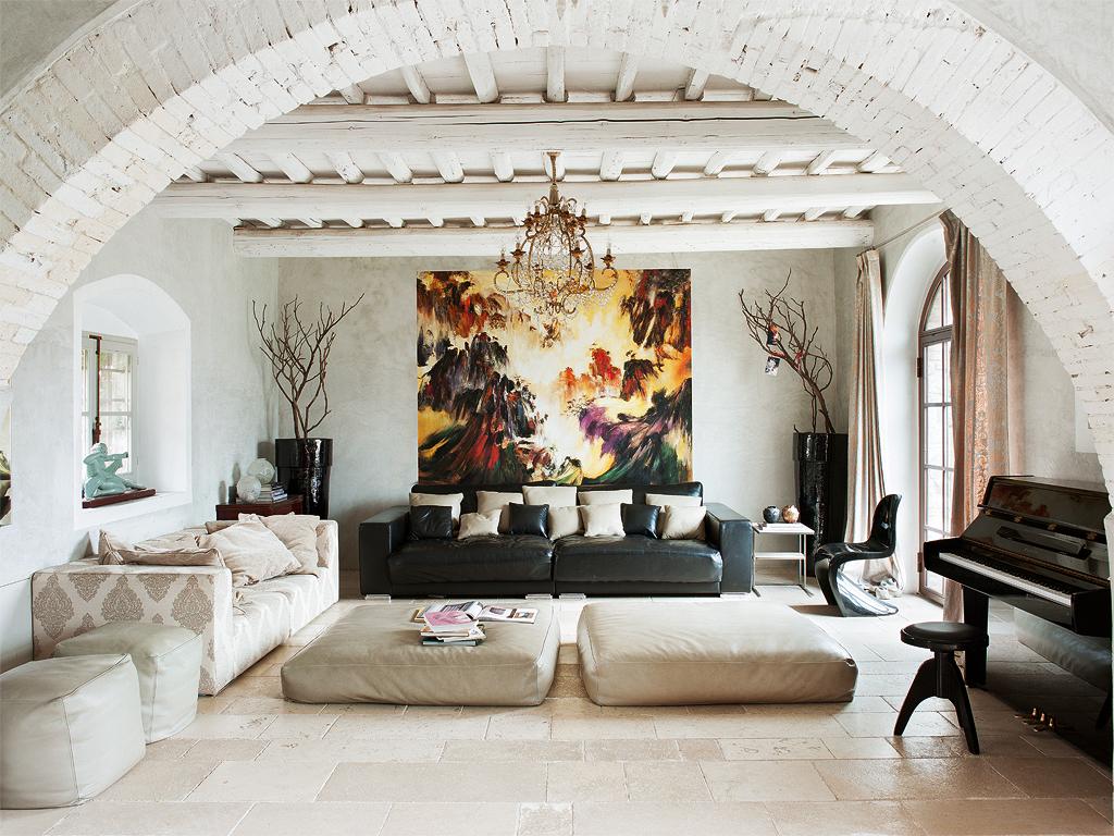 Nuevo Estilo Una casa de campo en la Toscana 1