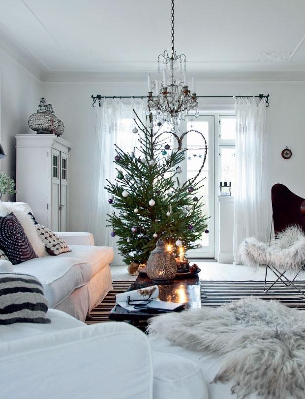 Femina Julebolig Jul med stjerner og julekugler 4