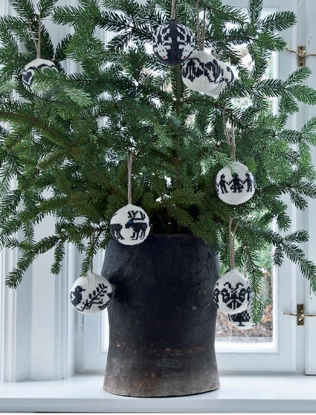 Femina Julebolig Jul med stjerner og julekugler 6