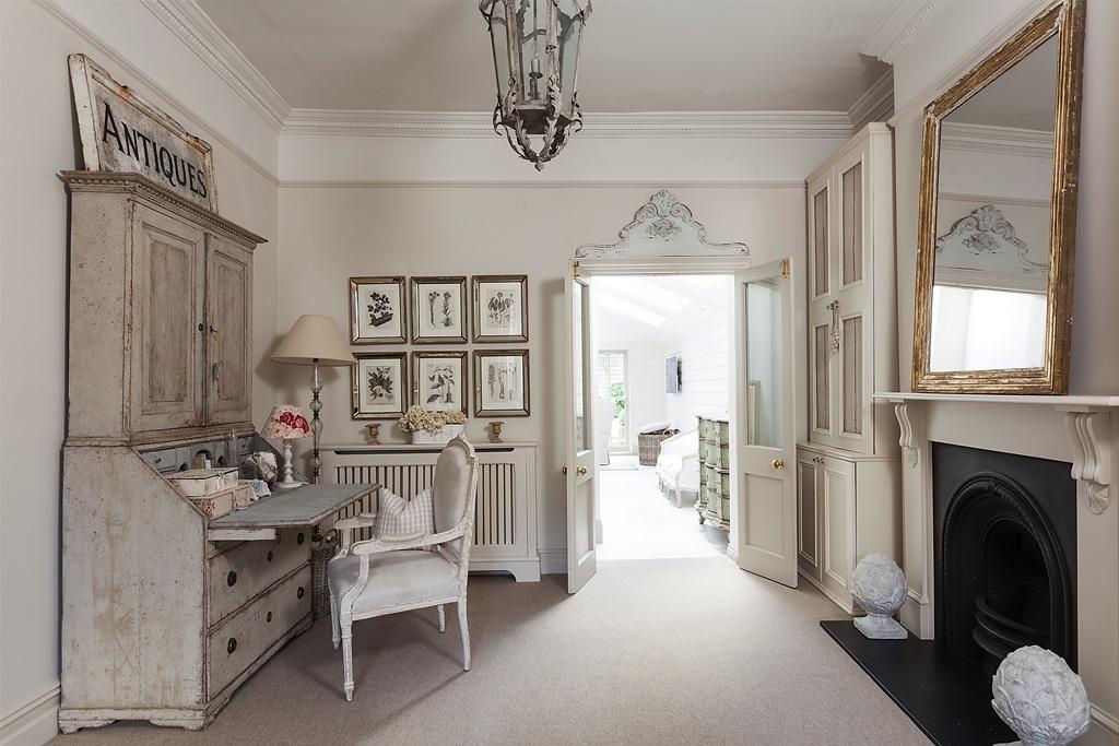 Shabby and charme in inghilterra una bellissima casa for Arredo bagno in stile provenzale