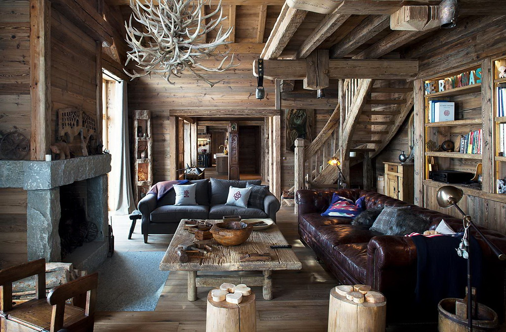 Decordemon luxury ski chalet in meribel france - Les classiques du design ...