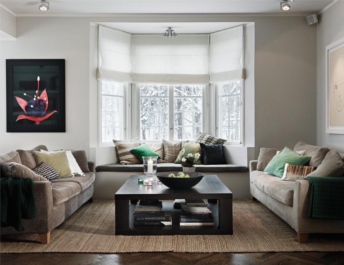 Una casa elegante y con encanto navide o decorar tu casa for Foro casas con vida