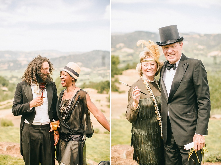 Style Me Pretty 1920′s Inspired Healdsburg Wedding 6
