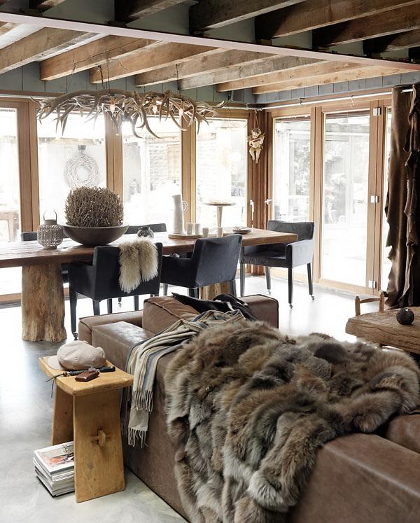 Decordemon a winter house - Deco chambre style chalet ...