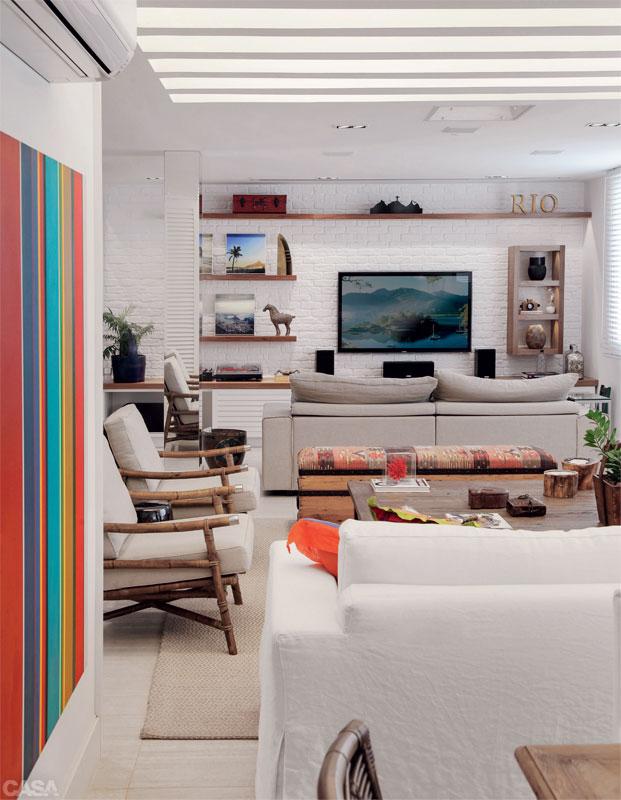 Casa com br Apartamento colorido em Copacabana 3
