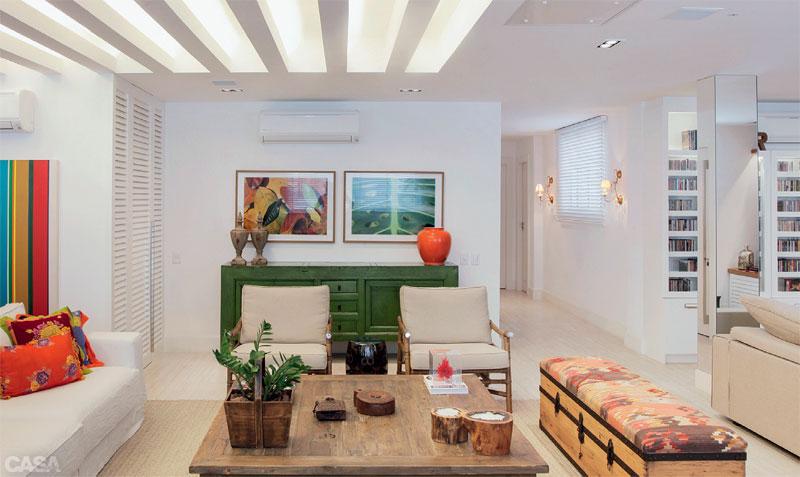 Casa com br Apartamento colorido em Copacabana 4