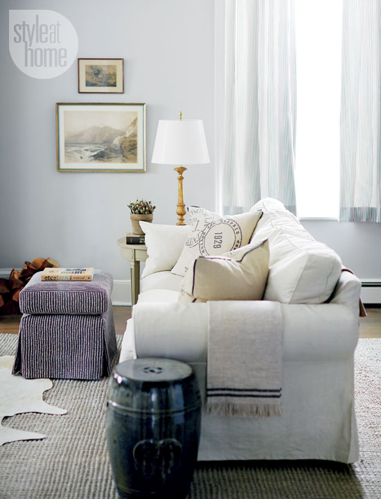 Style At Home Contemporary country home 1