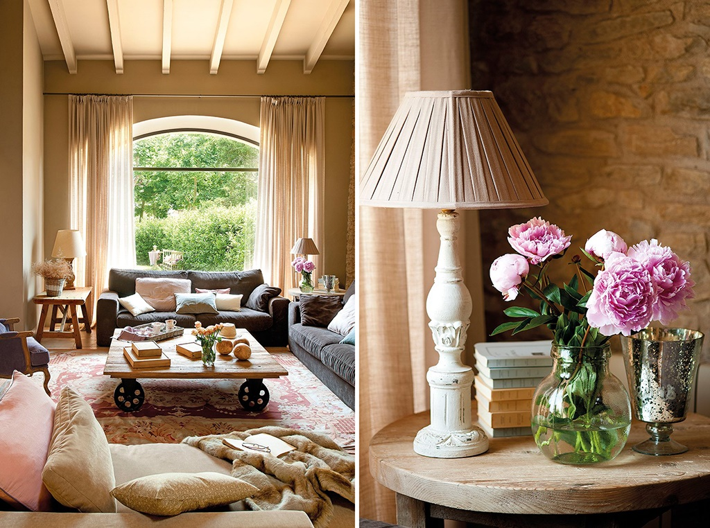 Decordemon a stone country house in spain - Decoracion de interiores rusticos ...