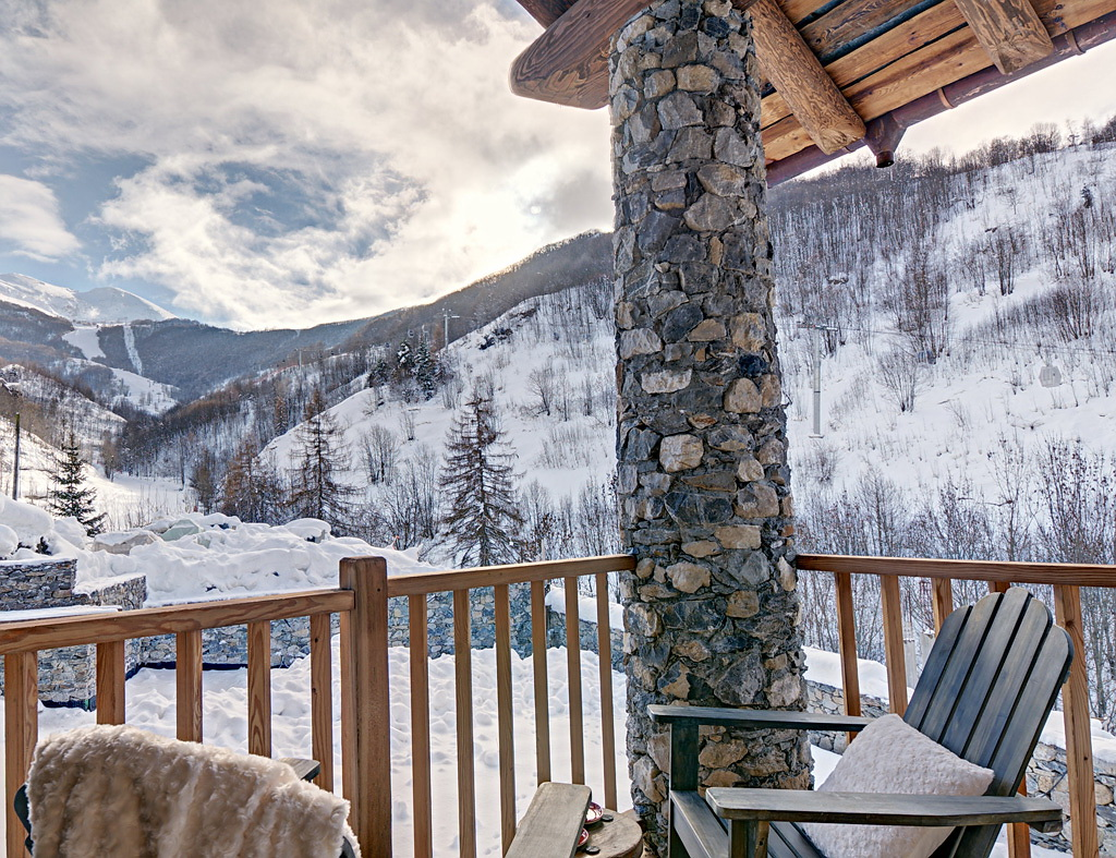 ELLE Un chalet en Los Alpes 5